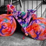 """Wool Bicycle • <a style=""""font-size:0.8em;"""" href=""""http://www.flickr.com/photos/7223507@N07/8522953419/"""" target=""""_blank"""">View on Flickr</a>"""