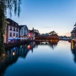 """Blue hour in Thun • <a style=""""font-size:0.8em;"""" href=""""http://www.flickr.com/photos/7223507@N07/29212953504/"""" target=""""_blank"""">View on Flickr</a>"""