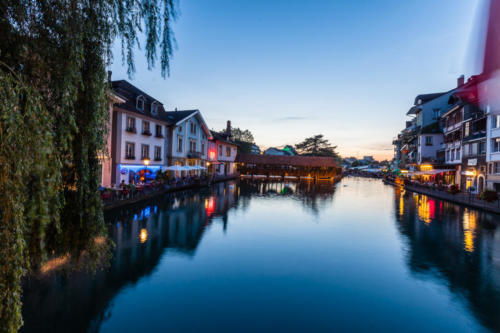 Blue hour in Thun