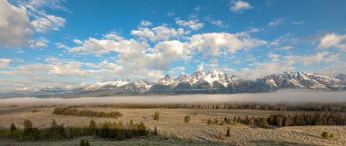 Grand Tetons In The Morning Light