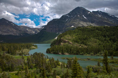 Lake Sherburn, Glacier National Park