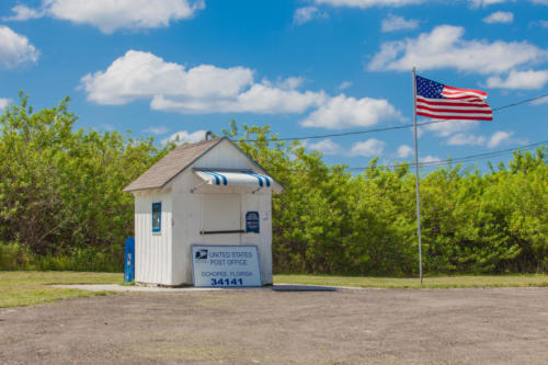 Lonely US Postoffice