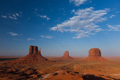 Monument Valley Sunset I