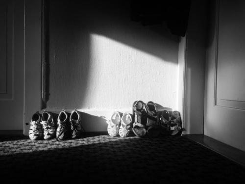 Shoes in the entrance