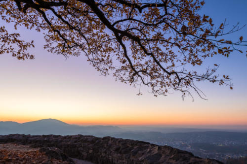 Sonnenuntergang im Birstal